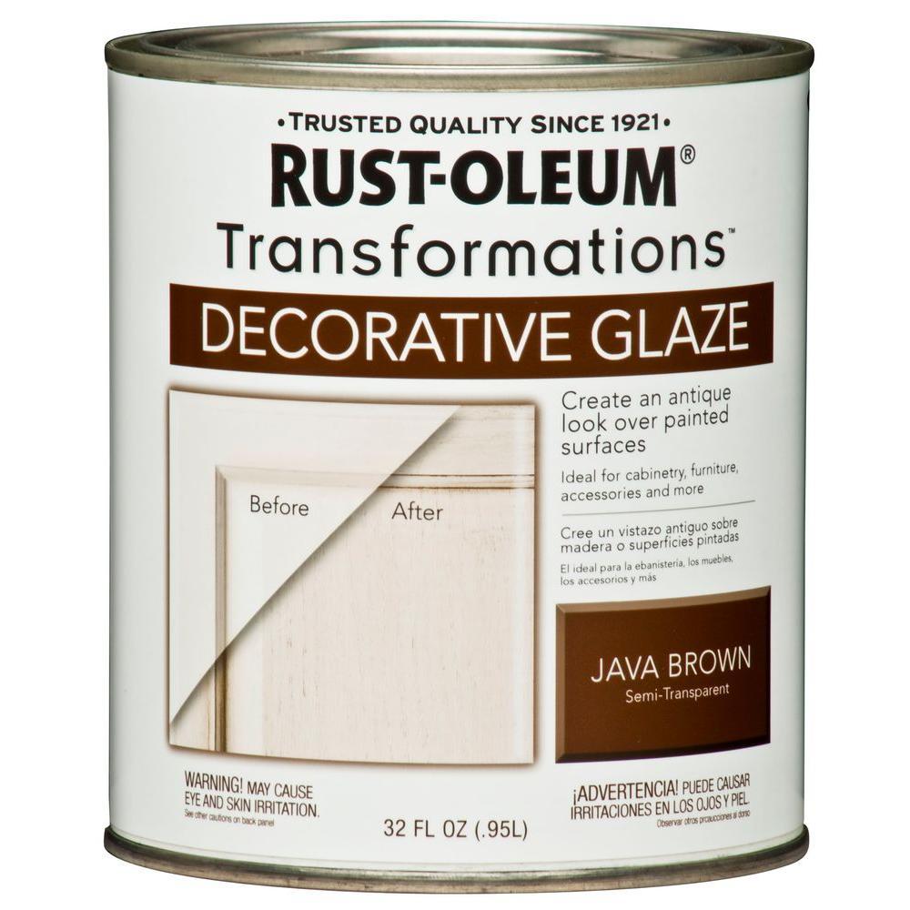 1 qt. Java Brown Cabinet Decorative Glaze
