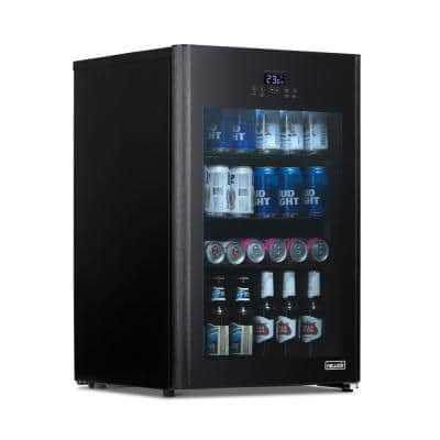 Beverage Froster 22 in. 125 (12 oz.) Can Freestanding Cooler Beverage Fridge Chills Down to 23° w/ Party and Turbo Mode