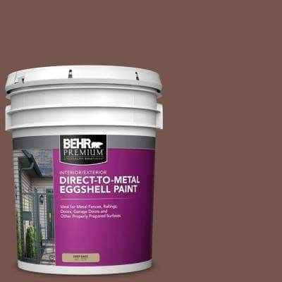 5 gal. #PPU2-20 Oxblood Eggshell Direct to Metal Interior/Exterior Paint