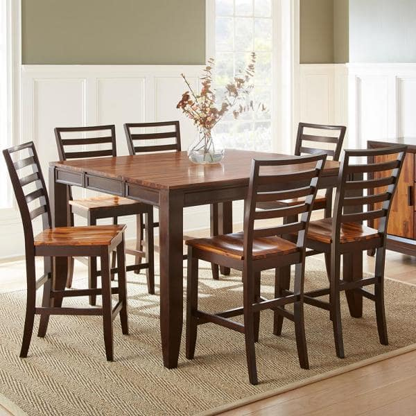 Steve Silver Abaco 18 In 2 Tone Cherry, High Dining Room Tables