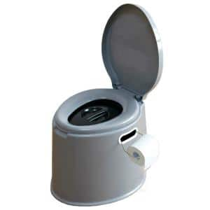 Portable Travel Toilet For Camping and Hiking, Non-electric Waterless Toilet