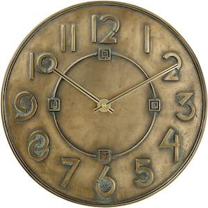 12 in. Frank Lloyd Wright Wall Clock