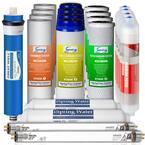 LittleWell 7-Stage UV Alkaline Reverse Osmosis 2-Year Filter Set