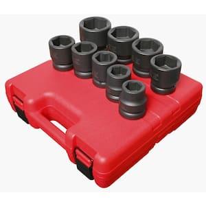 1 in. Drive 9-Piece STD SAE Jumbo Impact Socket Set