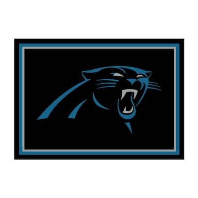 NFL 4 ft. x 6 ft. Carolina Panthers spirit rug