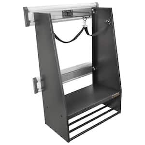 GearTrack Gray Steel 2-Bag Golf Organizer