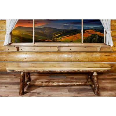 Glacier Country Puritan Pine Bench