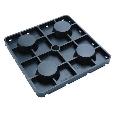 UDECX 1 in. Shim Black (12-Pack)