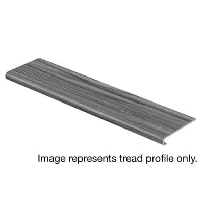 Glazed Oak / Soft Oak Glazed 47 in. L x 12-1/8 in. W x 1-11/16 in. T Laminate to Cover Stairs 1 in. T