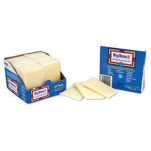 3-1/2 in. x 5-1/2 in., Non-Scratch Scouring Pad Sponge, (24/Carton)