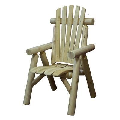 Cedar Wood Outdoor Dining Chair