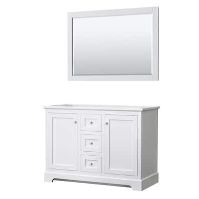 48 Inch Vanities Double Sink, Double Sink Bathroom Vanity Without Top