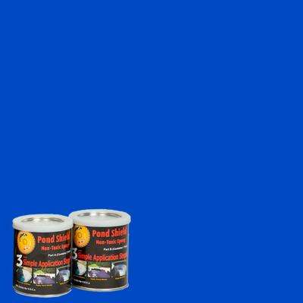 Pond Shield 1.5-qt. Competition Blue Non Toxic Epoxy
