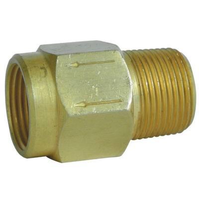 1/2 in. Brass Back Flow Preventer