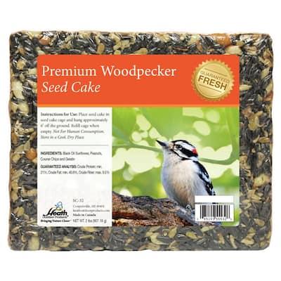 2 lbs. Woodpecker Seed Cake (8-Pack)