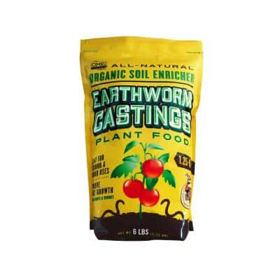 Earthworm Castings Plant Food