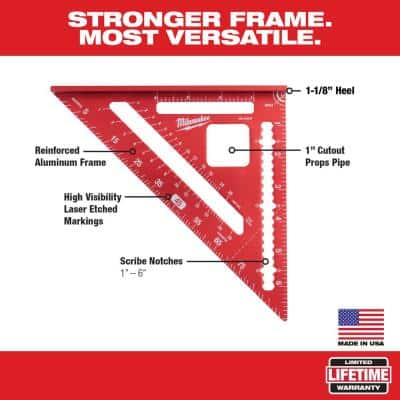 7 in. Rafter Square