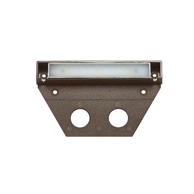 Ultra-Warm Integrated LED Bronze Hardscape Light (10-Pack) (2700K)