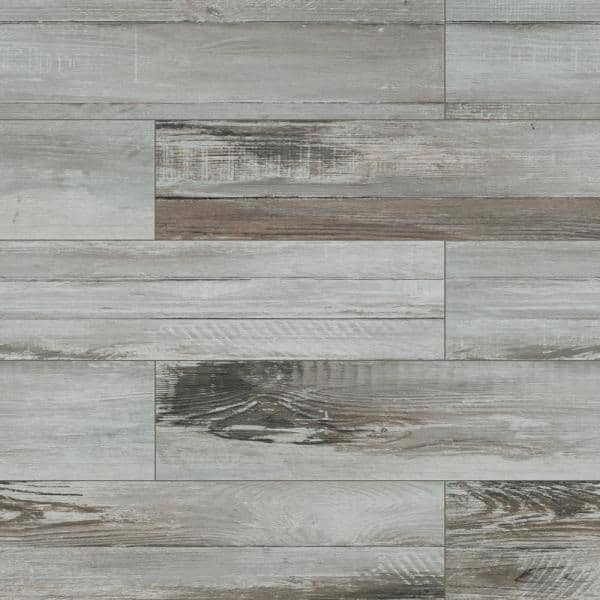 Msi Duttonwood Ash 7 In X 20 In Matte Ceramic Floor And Wall Tile 14 58 Sq Ft Case Nhddutash7x20 The Home Depot