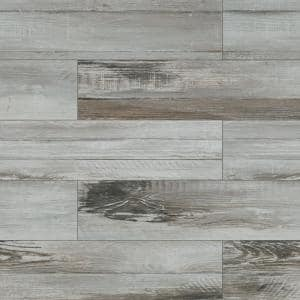 Duttonwood Ash 7 in. x 20 in. Matte Ceramic Floor and Wall Tile (14.58 sq. ft./Case)