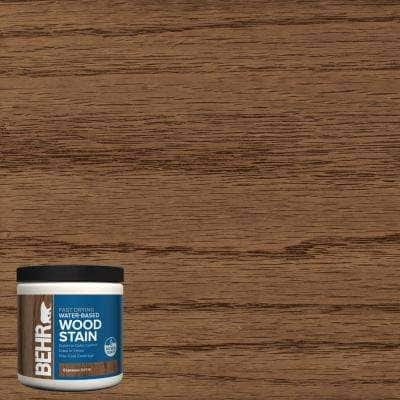 8 oz. TIS-518 Espresso Transparent Water-Based Fast Drying Interior Wood Stain