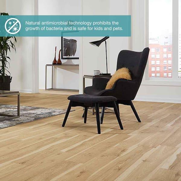 Pergo Defense 6 14 In W Vintage Linen, Vintage Worn Hickory Laminate Flooring