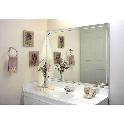 48 in x 48 in. x 1.5 in. Acrylic Mirror Framing Installation Kit