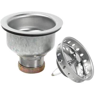 Specification Kitchen Sink Strainer - Stainless steel with polished finish