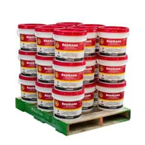 RedGard 3-1/2 Gal. Waterproofing and Crack Prevention Membrane (24 Buckets / pallet)