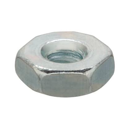 #10-32 Zinc Plated Machine Screw Nut (100-Pack)