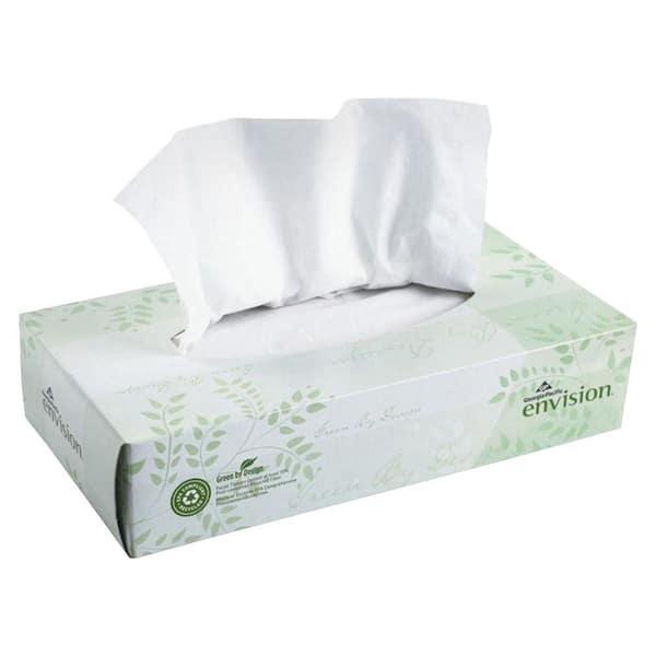Georgia-Pacific Envision White Facial Tissue 2-Ply (100 Sheets per Box)