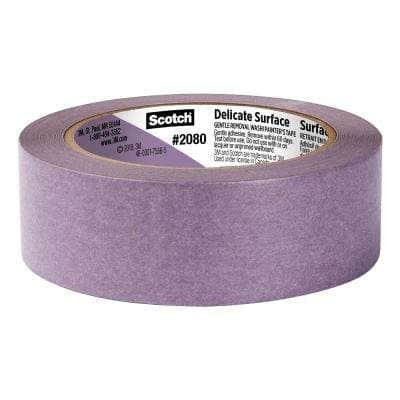 Scotch 1.41 in. x 60 yds. Delicate Surface Painter's Tape with Edge-Lock (4-Pack) (Case of 4)