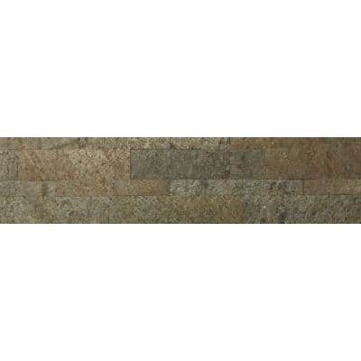 Ultra Thin Series 6 in. x 24 in. Natural Stone Panel Siding (10-Pack)