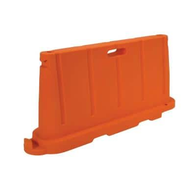 Stackable Poly Barricade in Orange