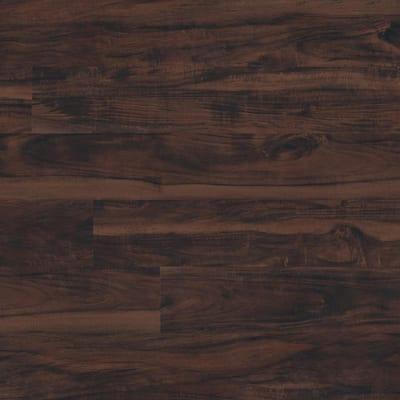 Take Home Sample - 6 in. x 6 in. Centennial Aged Walnut Glue Down Adhesive Luxury Vinyl Plank Flooring