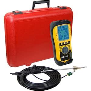 6-Line Display Combustion Analyzer No Oxygen Sensor