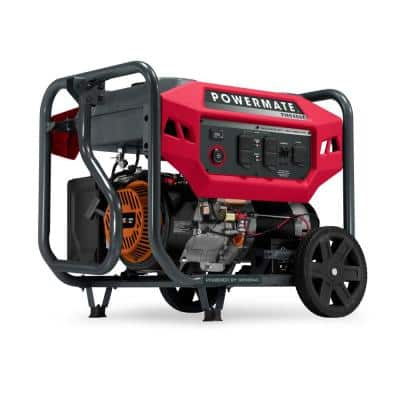 PM9400E 7500 Running Watt Electric Start Gasoline Powered Portable Generator, 49 ST/CSA