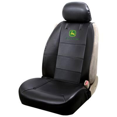 John Deere 26 in. x 22 in. x 0.5 in. Sideless Heavy-Duty Seat Cover with Cargo Pocket