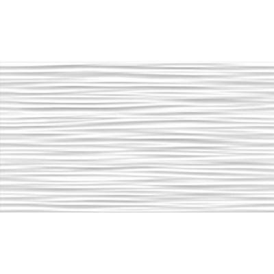 Aqua White 3D 12 in. x 22 in. Ceramic Wall Tile (12.83 sq. ft. / case)