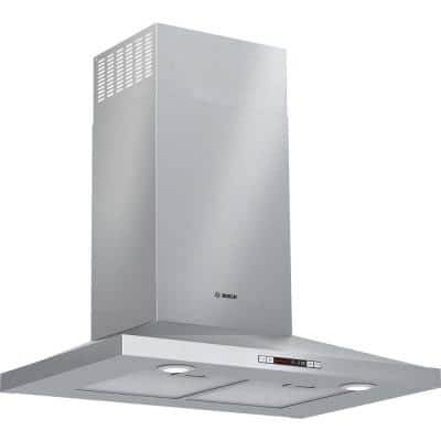 300 Series 30 in. 300 CFM Convertible Wall Mount Range Hood with light in Stainless Steel