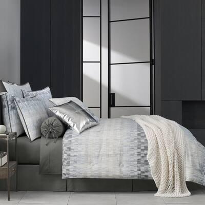 Fulton Teal Queen 4Pc. Comforter Set