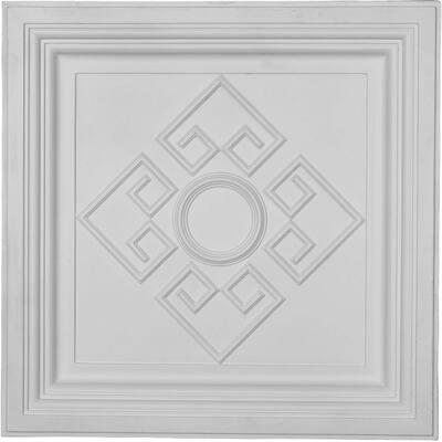 2-1/2 in. x 23-7/8 in. Polyurethane Nestor Ceiling Tile