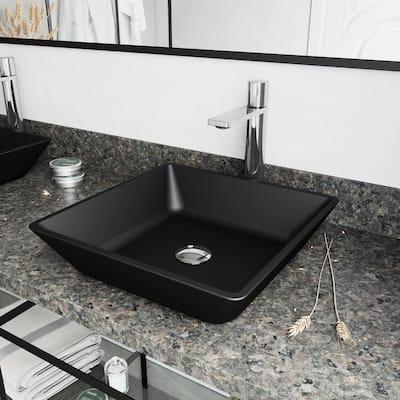 Gotham Single-Handle Vessel Sink Faucet in Chrome