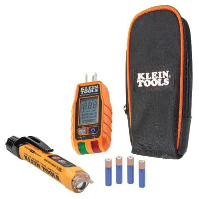 Premium Non-Contact Voltage and GFCI Receptacle Electrical Test Kit