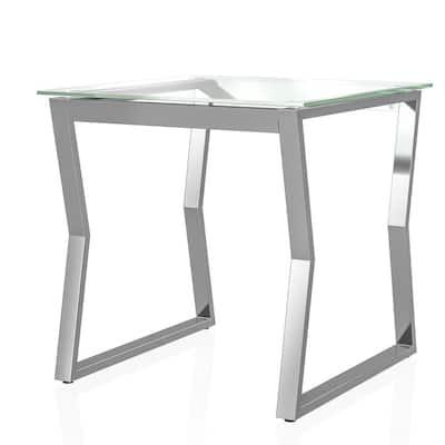 Harvoy 24 in.H Chrome End Table