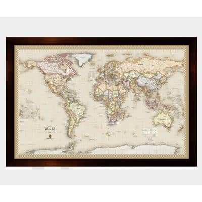 Magnetic Travel Map World