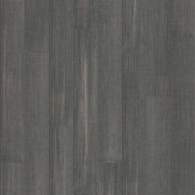 Waterproof Core Antique Iron 1/4 in. T x 5-9/16 in. W x 36-1/4 in. L Wide Click Engineered Bamboo Flooring