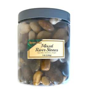 5 lb. Mixed River Stones