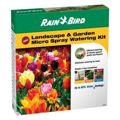Landscape and Garden Micro Spray Watering Kit