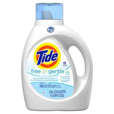 69 fl. oz. Free And Gentle Liquid Laundry Detergent (48-Loads)